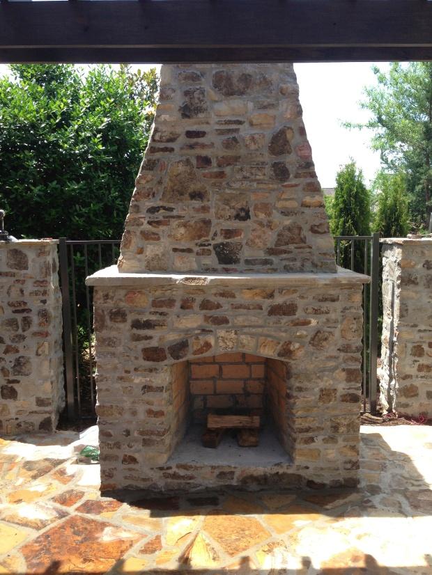 Peyton Fireplace Front